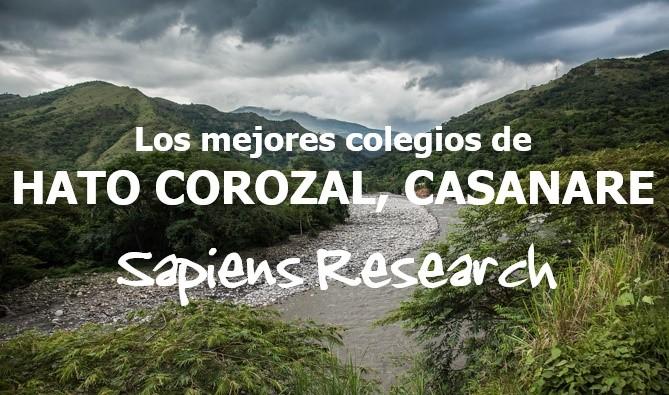 Los mejores colegios de Hato Corozal, Casanare