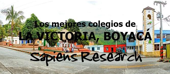 Los mejores colegios de La Victoria, Boyacá
