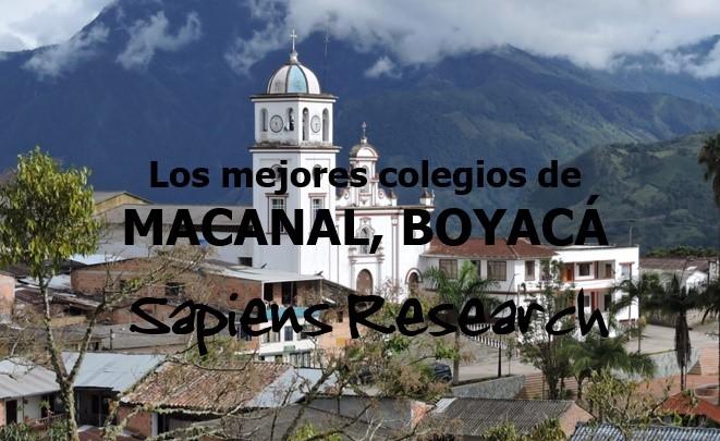Los mejores colegios de Macanal, Boyacá
