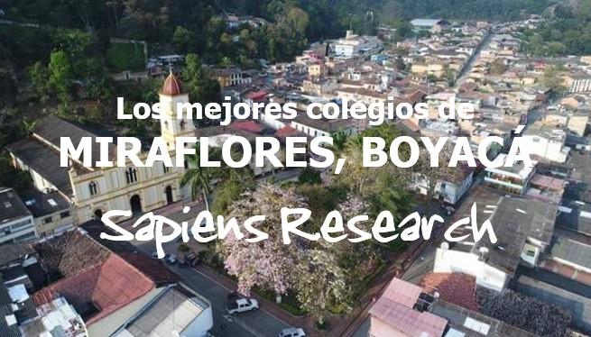 Los mejores colegios de Miraflores, Boyacá