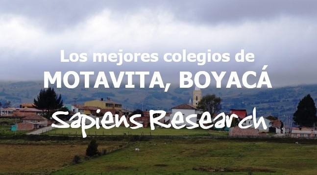 Los mejores colegios de Motavita, Boyacá