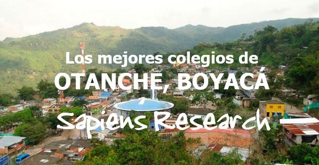 Los mejores colegios de Otanche, Boyacá