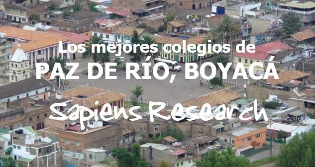Los mejores colegios de Paz de Río, Boyacá