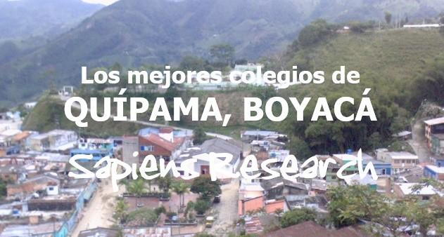 Los mejores colegios de Quípama, Boyacá