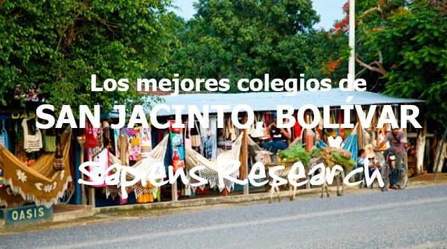 Los mejores colegios de San Jacinto, Bolívar