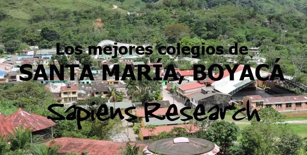 Los mejores colegios de Santa María, Boyacá