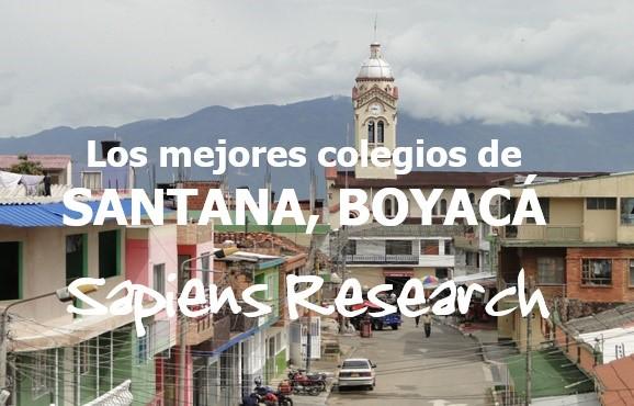 Los mejores colegios de Santana, Boyacá