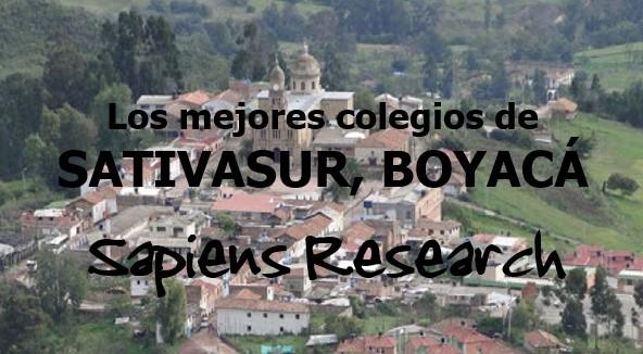 Los mejores colegios de Sativasur, Boyacá
