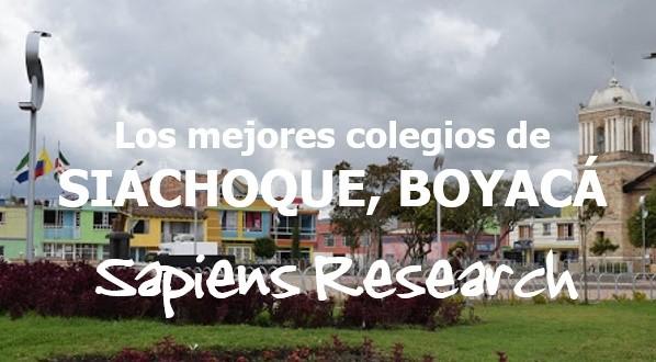 Los mejores colegios de Siachoque, Boyacá