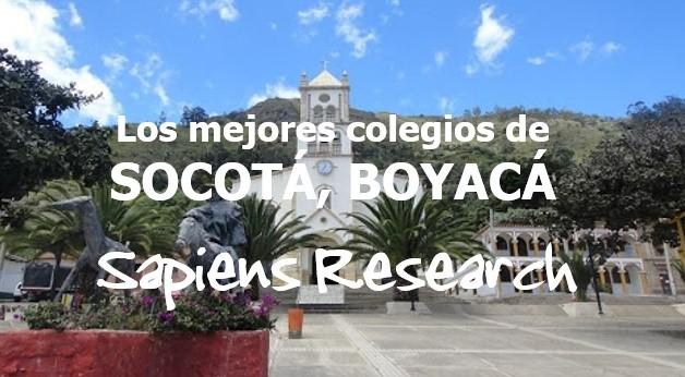 Los mejores colegios de Socotá, Boyacá