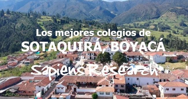 Los mejores colegios de Sotaquirá, Boyacá
