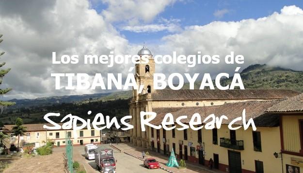 Los mejores colegios de Tibaná, Boyacá