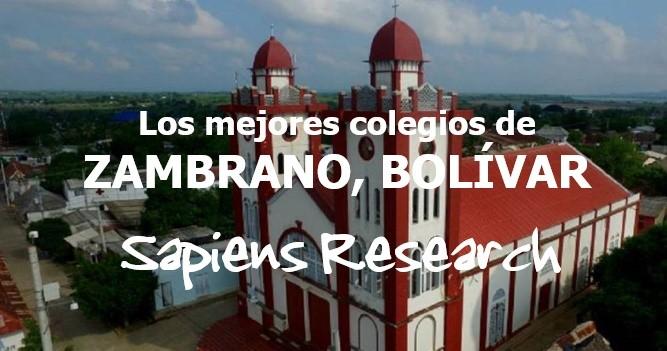 Los mejores colegios de Zambrano, Bolívar