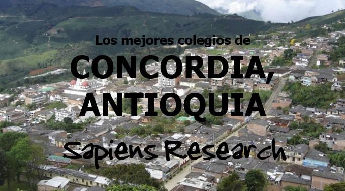 Los mejores colegios de Concordia, Antioquia