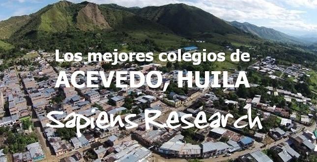 Los mejores colegios de Acevedo, Huila