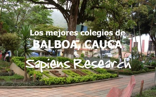 Los mejores colegios de Balboa, Cauca