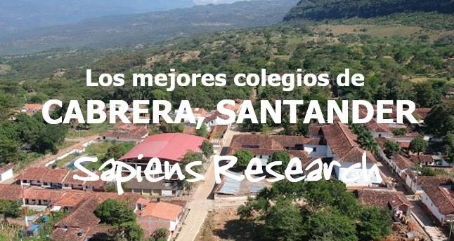 Los mejores colegios de Cabrera, Santander