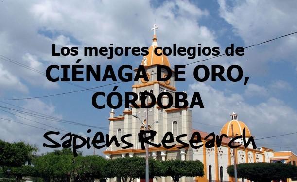 Los mejores colegios de Ciénaga de Oro, Córdoba
