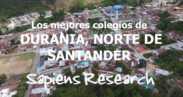 Los mejores colegios de Durania, Norte de Santander