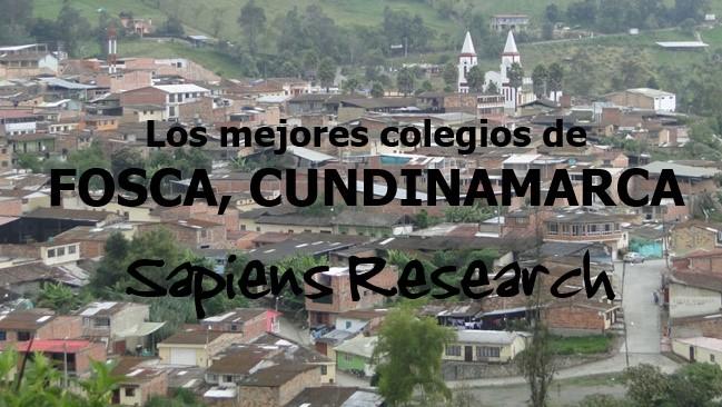Los mejores colegios de Fosca, Cundinamarca
