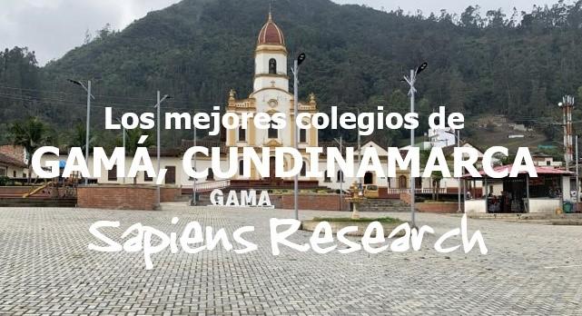 Los mejores colegios de Gama, Cundinamarca