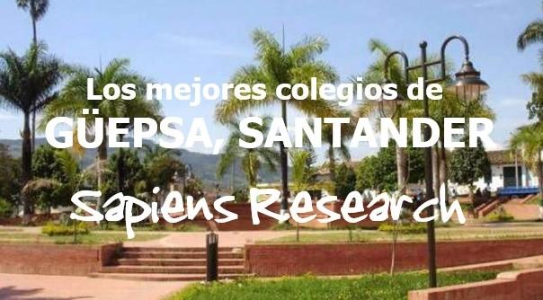 Los mejores colegios de Güepsa, Santander