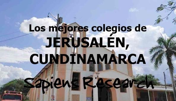 Los mejores colegios de Jerusalén, Cundinamarca