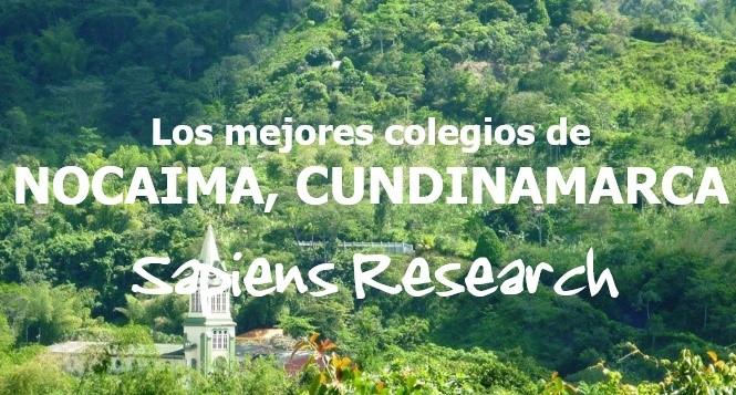 Los mejores colegios de Nocaima, Cundinamarca