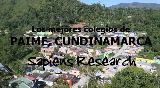 Los mejores colegios de Paime, Cundinamarca