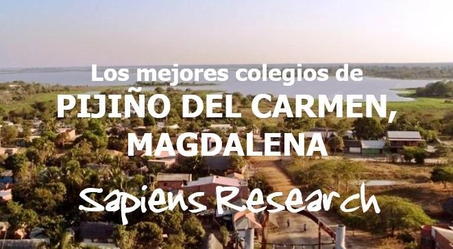 Los mejores colegios de Pijiño del Carmen, Magdalena