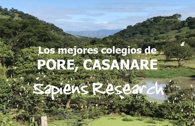 Los mejores colegios de Pore, Casanare