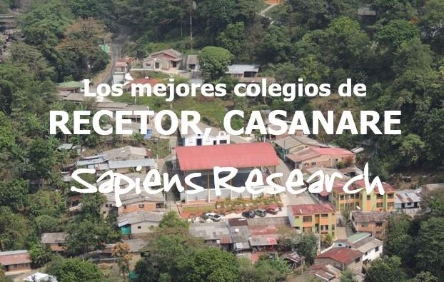 Los mejores colegios de Recetor, Casanare