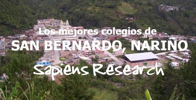 Los mejores colegios de San Bernardo, Nariño