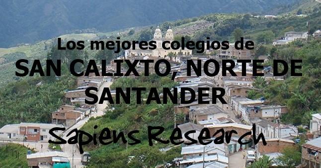 Los mejores colegios de San Calixto, Norte de Santander