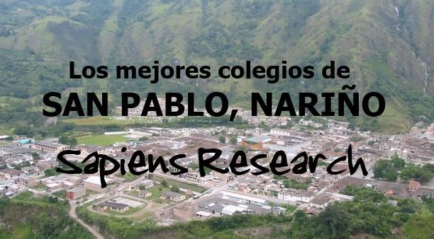Los mejores colegios de San Pablo, Nariño