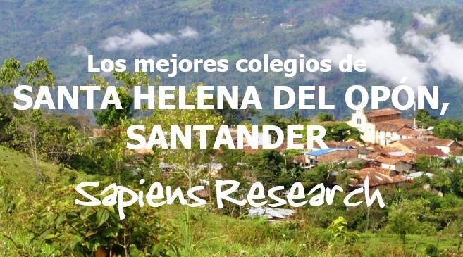 Los mejores colegios de Santa Helena del Opón, Santander