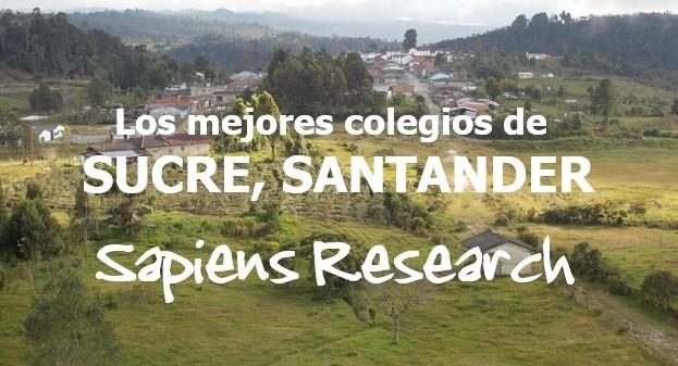 Los mejores colegios de Sucre, Santander