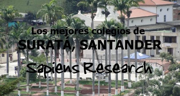 Los mejores colegios de Suratá, Santander