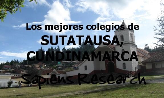 Los mejores colegios de Sutatausa, Cundinamarca
