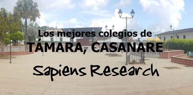 Los mejores colegios de Támara, Casanare
