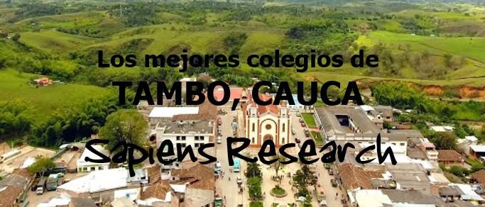 Los mejores colegios de El Tambo, Cauca