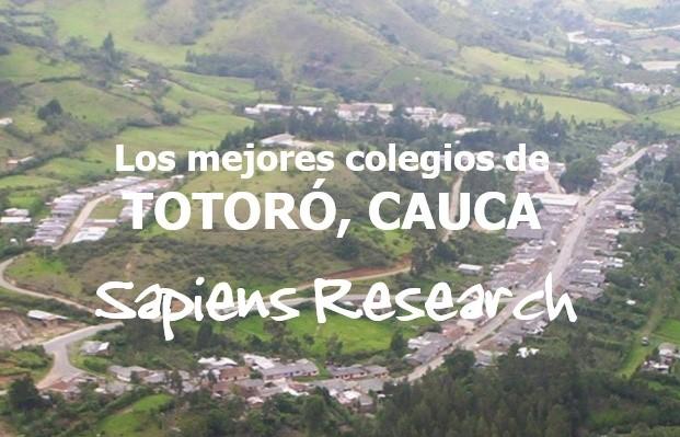 Los mejores colegios de Totoró, Cauca