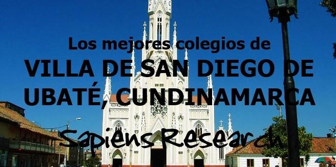 Los mejores colegios de Villa de San Diego de Ubaté, Cundinamarca