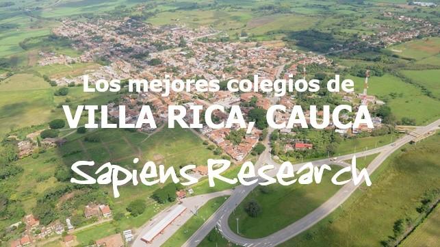 Los mejores colegios de Villa Rica, Cauca