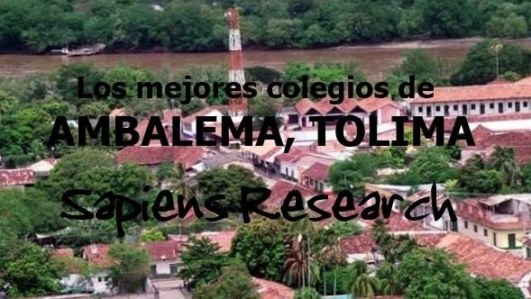 Los mejores colegios de Ambalema, Tolima