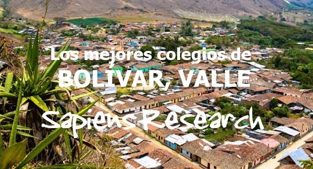 Los mejores colegios de Bolívar, Valle