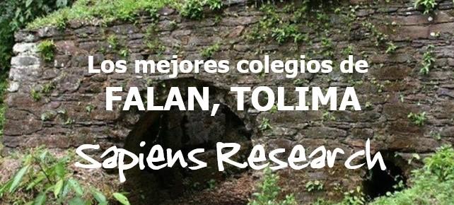Los mejores colegios de Falan, Tolima