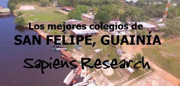 Los mejores colegios de San Felipe, Guainía
