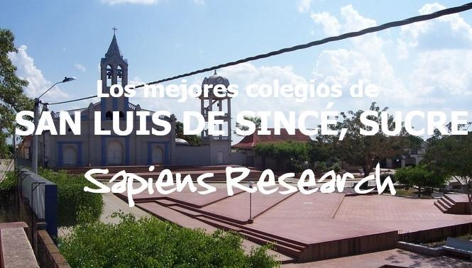 Los mejores colegios de San Luis de Sincé, Sucre