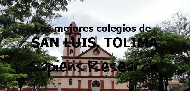 Los mejores colegios de San Luis, Tolima